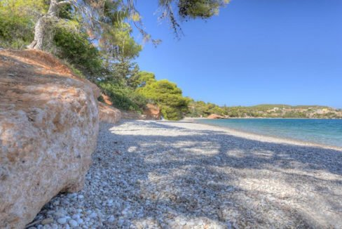 Land in Porto Heli for Sale, By the Sea, Ideal to Built 1-3 Villas, Beachfront Land for Sale in Porto Heli, Seafront land to built in Porto Heli 13