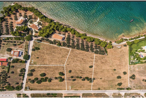 Land in Porto Heli for Sale, By the Sea, Ideal to Built 1-3 Villas, Beachfront Land for Sale in Porto Heli, Seafront land to built in Porto Heli 2