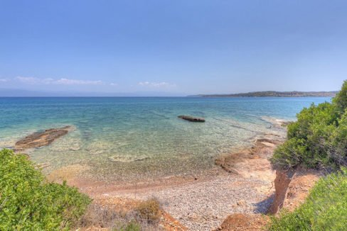 Land in Porto Heli for Sale, By the Sea, Ideal to Built 1-3 Villas, Beachfront Land for Sale in Porto Heli, Seafront land to built in Porto Heli 3