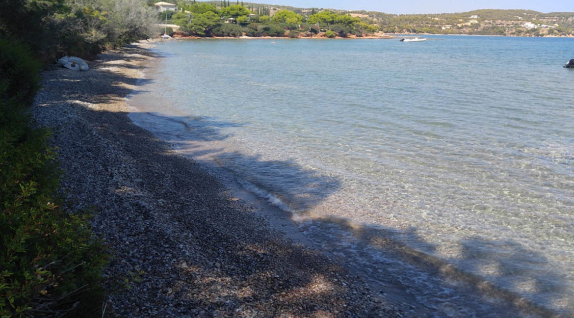 Land in Porto Heli for Sale, By the Sea, Ideal to Built 1-3 Villas, Beachfront Land for Sale in Porto Heli, Seafront land to built in Porto Heli 6