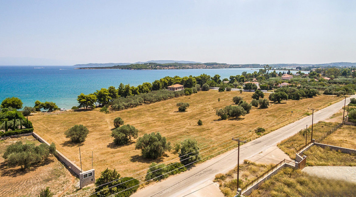 Land in Porto Heli for Sale, By the Sea, Ideal to Built 1-3 Villas, Beachfront Land for Sale in Porto Heli, Seafront land to built in Porto Heli 8