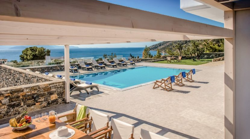 Luxury Villa in Agios Nikolaos Crete, by the sea. Villas for Sale in Crete, Seafront Villas in Crete, Luxury Estate Crete 18