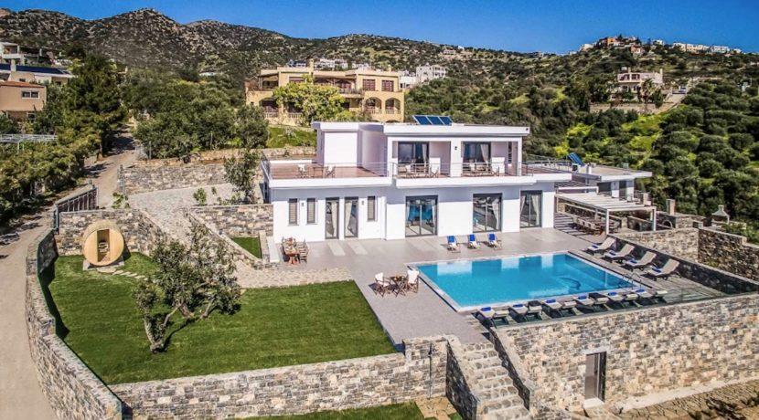 Luxury Villa in Agios Nikolaos Crete, by the sea. Villas for Sale in Crete, Seafront Villas in Crete, Luxury Estate Crete 23