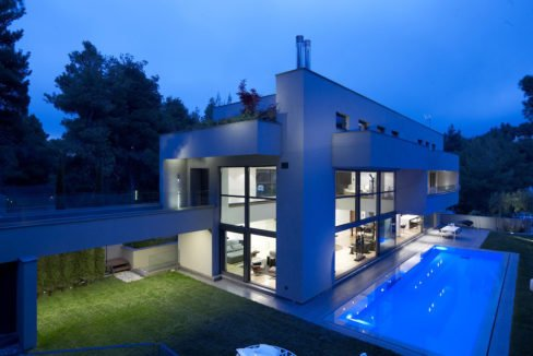 Luxury villa in North Athens, Dionisos area. Luxury Villas in North Athens, Villas in Athens, Luxury Property in Athens, Villa with Pool for Sale in Attica 1