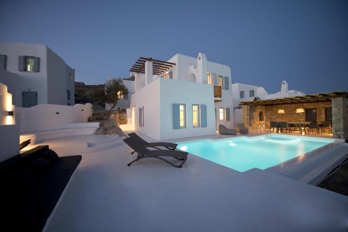 Mykonos Villa Ornos