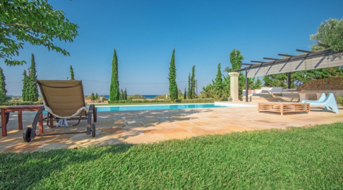 NEW Seafront Villa in Peloponnese, Beachfront Property in Porto Heli. Buy this luxury Villa at the most cosmopolitan spot in Greece. Porto Heli Real Estate 11