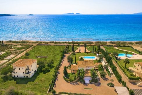 NEW Seafront Villa in Peloponnese, Beachfront Property in Porto Heli. Buy this luxury Villa at the most cosmopolitan spot in Greece. Porto Heli Real Estate 4