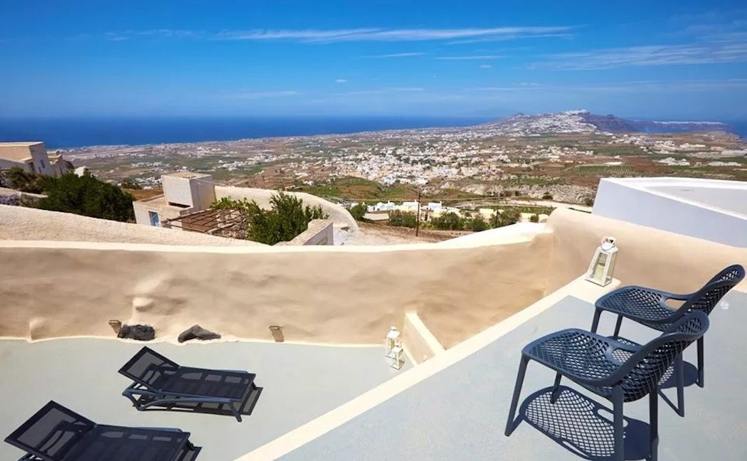 Property at Pyrgos Santorini with sea view for sale