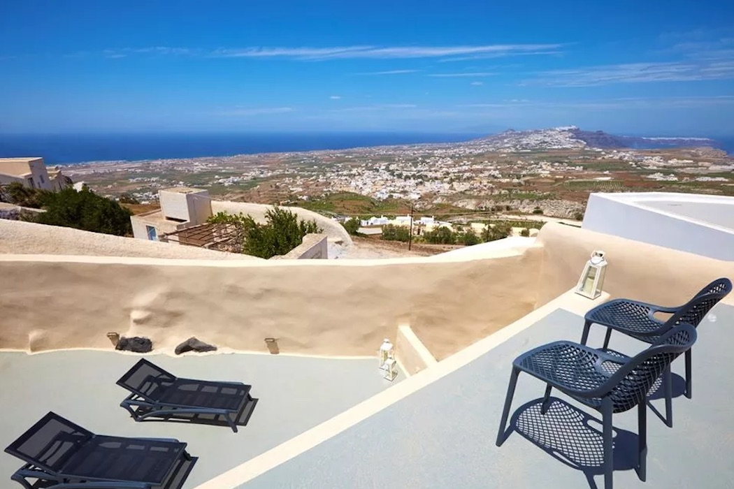 Property at Pyrgos Santorini with sea view