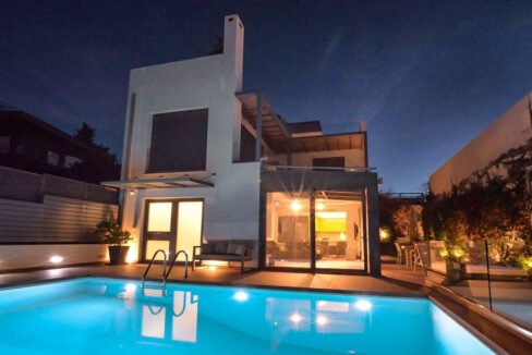 Sea View villa in Lagonissi , Athens Riviera 35