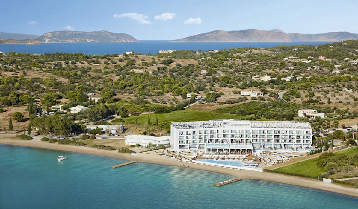 Seafront Land next to Nikki Beach Hotel in Porto Heli, 16,000 sqm
