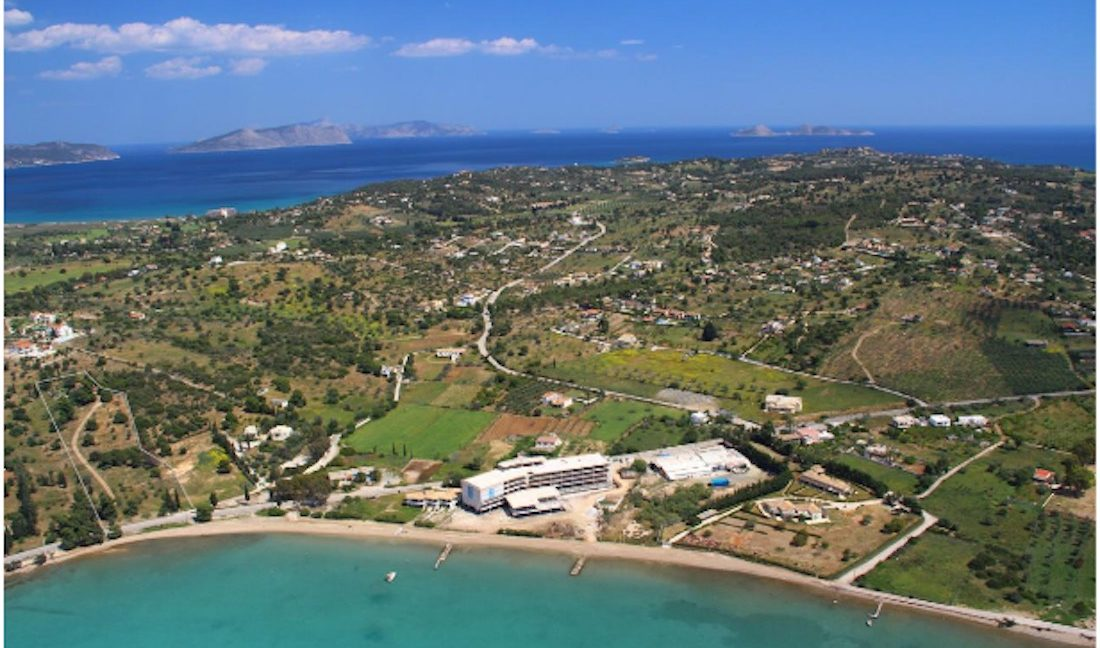Seafront Land next to Nikki Beach Hotel in Porto Heli, Land to Built a Hotel, Seafront Land for Hotel, Seafront LAnd to Built Luxury Villa in Porto Heli 3