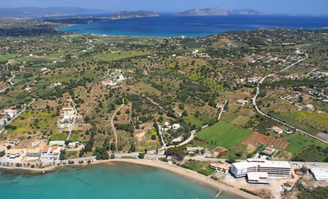 Seafront Land next to Nikki Beach Hotel in Porto Heli, Land to Built a Hotel, Seafront Land for Hotel, Seafront LAnd to Built Luxury Villa in Porto Heli 4