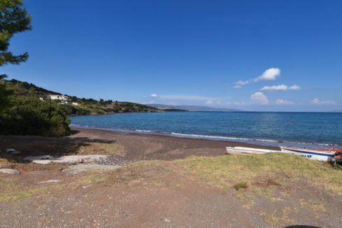 Seafront Land with Semi Finished Villa, Porto Heli Real Estate, Seafront Land in Peloponnese Porto Heli, Excellent Beacfront LAnd in Peloponnese 10