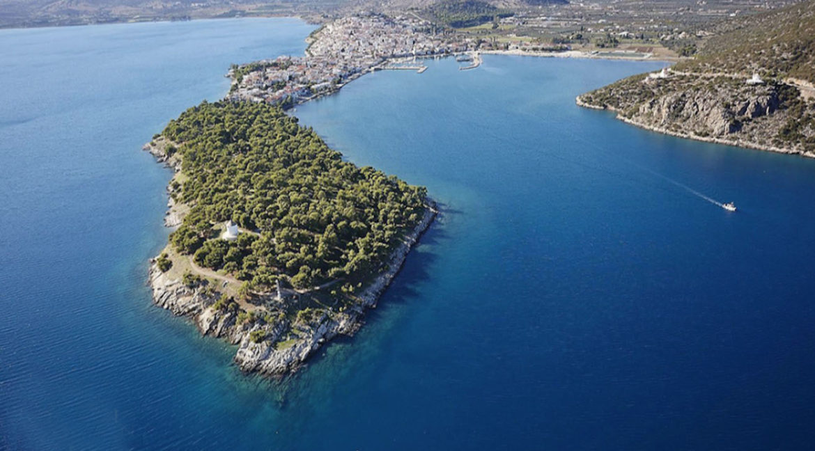 Seafront Land with Semi Finished Villa, Porto Heli Real Estate, Seafront Land in Peloponnese Porto Heli, Excellent Beacfront LAnd in Peloponnese 2