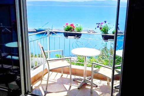 Seafront Property of 4 independent apartments in South Crete, Agia Galini. Seafront in Crete, Seafront Hotel, Seafront Villa in Crete 3