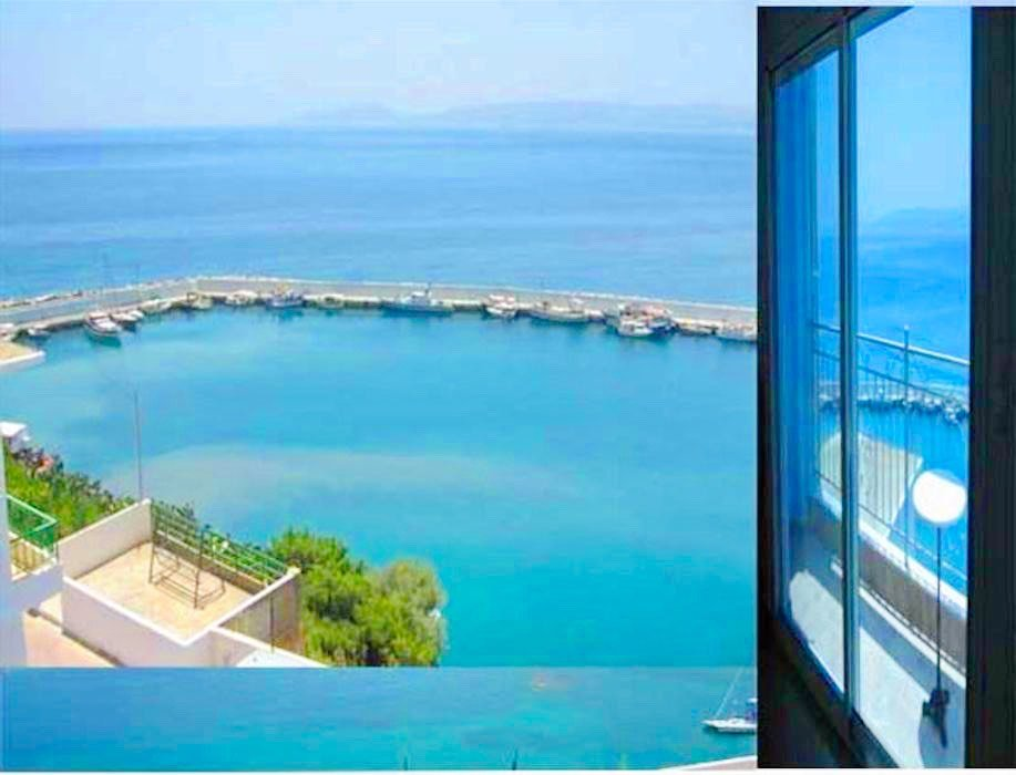 Seafront Property of 4 independent apartments in South Crete, Agia Galini