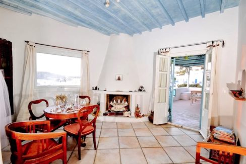 Traditional 2 levels Villa with sea view in Mykonos Center. Mykonos Chora Property for Sale, Mykonos Center House for Sale 12