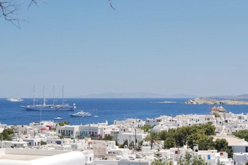 Traditional 2 levels Villa with sea view in Mykonos Center. Mykonos Chora Property for Sale, Mykonos Center House for Sale 13