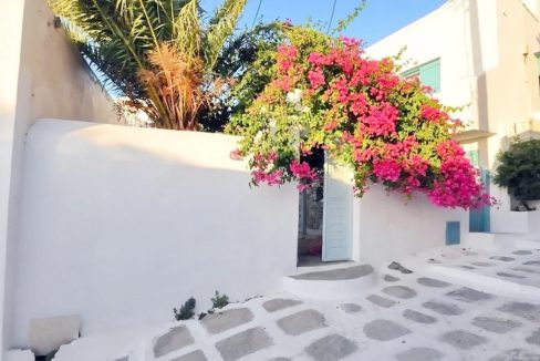 Traditional 2 levels Villa with sea view in Mykonos Center. Mykonos Chora Property for Sale, Mykonos Center House for Sale 2