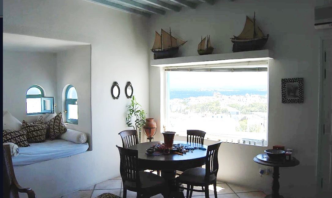 Traditional 2 levels Villa with sea view in Mykonos Center. Mykonos Chora Property for Sale, Mykonos Center House for Sale 9