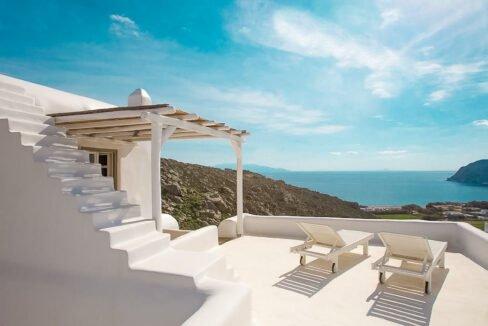 Villa in Mykonos with excellent sea view, Agrari, Mykonos villas 2