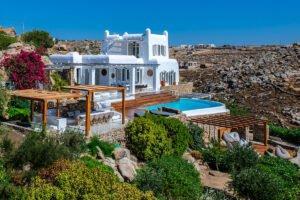 Villa in Mykonos with excellent sea view, Mykonos villas