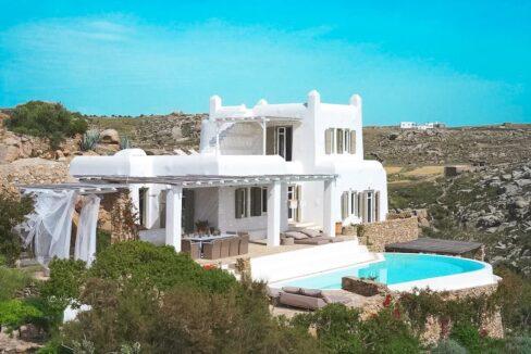 Villa in Mykonos with excellent sea view, Agrari, Mykonos villas 7