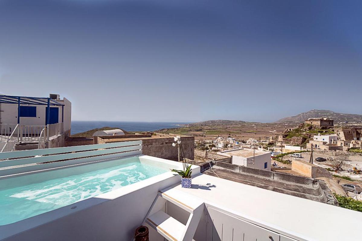 Villa in Santorini, Property in Akrotiri Santorini
