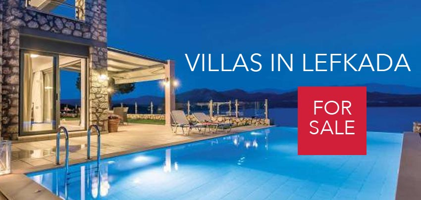 Villas for Sale in Lefkada, Real Estate in Lefkada, Lefkada Greece, Villas in Lefkas Greece for sale, Seafront Villas in Lefkada