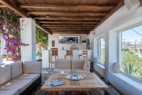 Waterfront Luxury Villa in Mykonos. Mykonos estates, elite estates Mykonos, Luxury Estate Mykonos, Seafront Villa Mykonos, Mykonos Villas 14