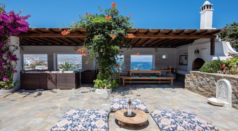 Waterfront Luxury Villa in Mykonos. Mykonos estates, elite estates Mykonos, Luxury Estate Mykonos, Seafront Villa Mykonos, Mykonos Villas 16