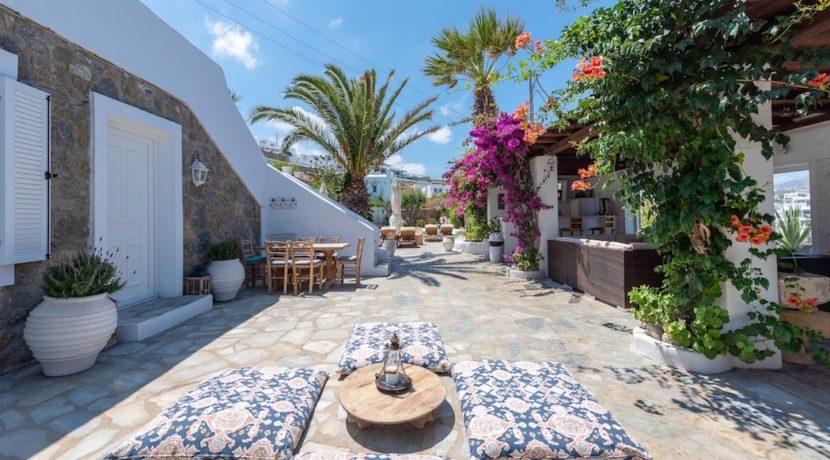 Waterfront Luxury Villa in Mykonos. Mykonos estates, elite estates Mykonos, Luxury Estate Mykonos, Seafront Villa Mykonos, Mykonos Villas 17
