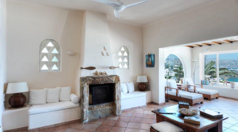 Waterfront Luxury Villa in Mykonos. Mykonos estates, elite estates Mykonos, Luxury Estate Mykonos, Seafront Villa Mykonos, Mykonos Villas 7