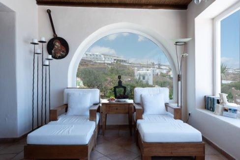 Waterfront Luxury Villa in Mykonos. Mykonos estates, elite estates Mykonos, Luxury Estate Mykonos, Seafront Villa Mykonos, Mykonos Villas 9