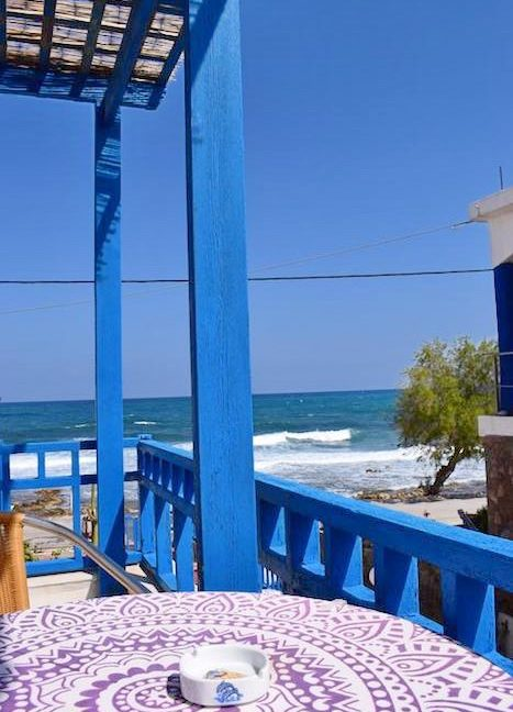 Beachfront Apartments Hotel of 9 studios in Crete, Seafront small Hotel in Greece, Greek Seafront Hotelfor Sale, Small Hotel in Crete for Sale 3