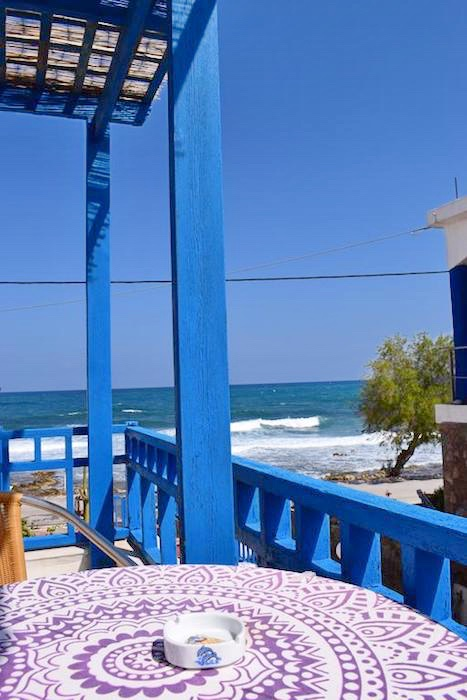 Beachfront Property in Crete, Can become one seafront Villa