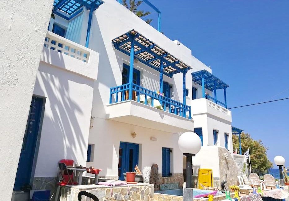 Beachfront Apartments Hotel of 9 studios in Crete, Seafront small Hotel in Greece, Greek Seafront Hotelfor Sale, Small Hotel in Crete for Sale 6