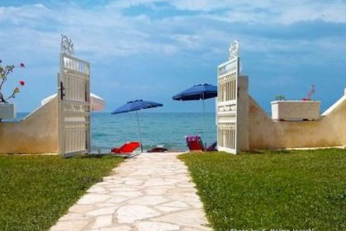 Beachfront House in Corfu excellent Investment, Seafront House in Corfu, Beachfront Property in Corfu, Greek Villa on the beach, Corfu Homes for Sale 12