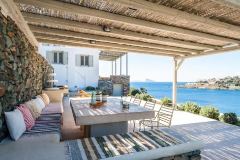Beautiful house in Kythnos island Greece, by the sea, Cyclades Villas Greece, House in Greece, Greek island Villas for sale, Greek Villas 3