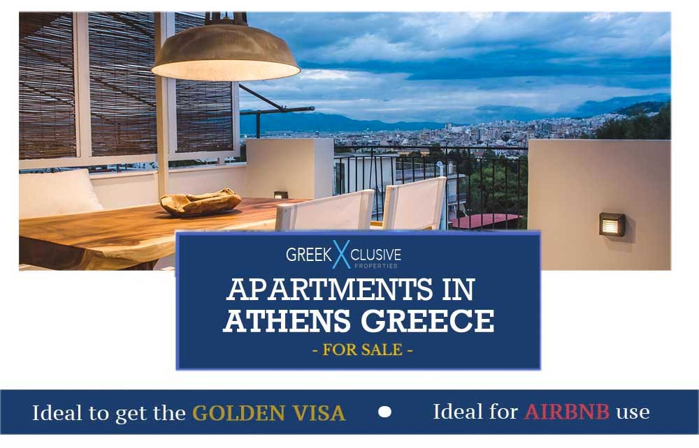 Golden Visa Greece, Apartments in Athens for Sale for EU Residency, Greece Residence Permit, Gold Visa Greece, EU Residence Permit