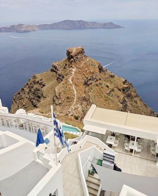 House in Santorini Imerovigli with View at Caldera, House to REnovate at Caldera Santorini, House at Imerovigli Santorini, House with Sea view Santorini 1
