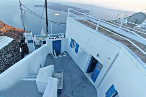 House in Santorini Imerovigli with View at Caldera, House to REnovate at Caldera Santorini, House at Imerovigli Santorini, House with Sea view Santorini 14