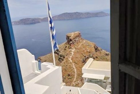 House in Santorini Imerovigli with View at Caldera, House to REnovate at Caldera Santorini, House at Imerovigli Santorini, House with Sea view Santorini 2