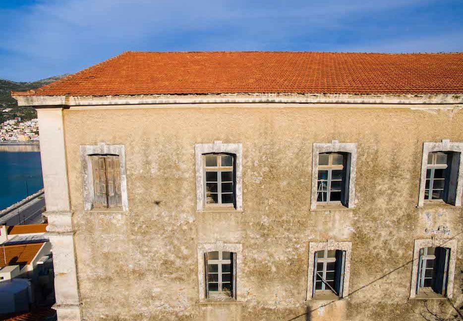 Investment Project in Samos Island Greece, Old building into Hotel, Seafront old building in Samos to become a hotel, Old building for sale in Greek Island 11