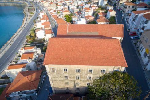 Investment Project in Samos Island Greece, Old building into Hotel, Seafront old building in Samos to become a hotel, Old building for sale in Greek Island 16