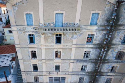 Investment Project in Samos Island Greece, Old building into Hotel, Seafront old building in Samos to become a hotel, Old building for sale in Greek Island 17