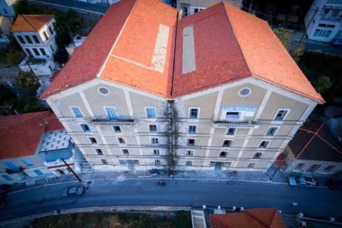 Investment Project in Samos Island Greece, Old building into Hotel, Seafront old building in Samos to become a hotel, Old building for sale in Greek Island 18
