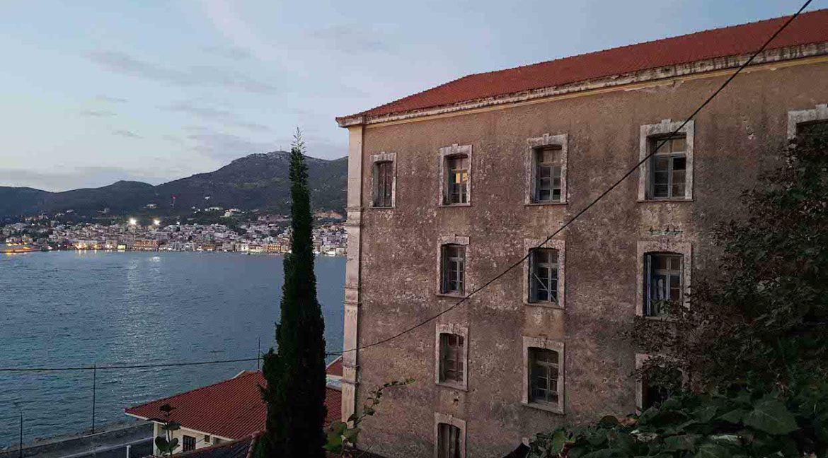 Investment Project in Samos Island Greece, Old building into Hotel, Seafront old building in Samos to become a hotel, Old building for sale in Greek Island 6