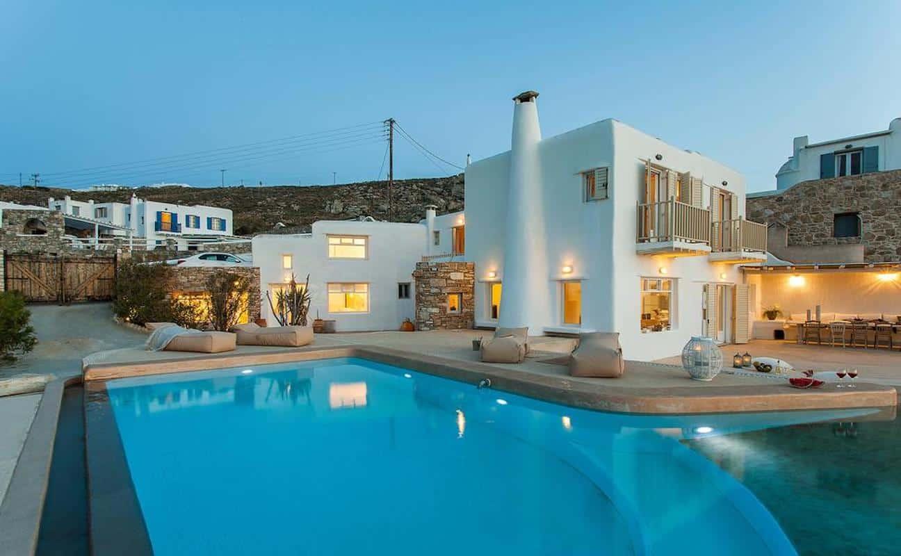 Luxury Villa Mykonos Kanalia Ornos